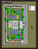 The site plan map created by GigaShock for the Belle Verde Apartments website.