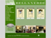 The floor plans page for the Belle Verde Apartments website.