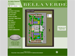 The site plan page for the Belle Verde Apartments website.