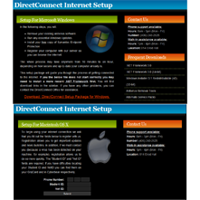 DCOWeb (DNS and Web Services)