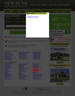 An example of a modal dialog listing the locations available for a specific home builder.